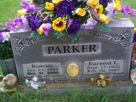 PARKER, EARNEST L. - Sebastian County, Arkansas | EARNEST L. PARKER - Arkansas Gravestone Photos