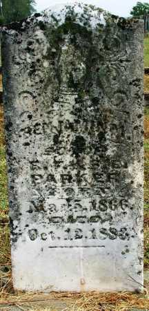 PARKER, BENJAMIN M. - Sebastian County, Arkansas | BENJAMIN M. PARKER - Arkansas Gravestone Photos