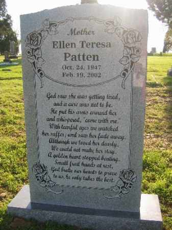 PATTEN, ELLEN TERESA - Sebastian County, Arkansas | ELLEN TERESA PATTEN - Arkansas Gravestone Photos