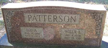 PATTERSON, EDD A - Sebastian County, Arkansas | EDD A PATTERSON - Arkansas Gravestone Photos