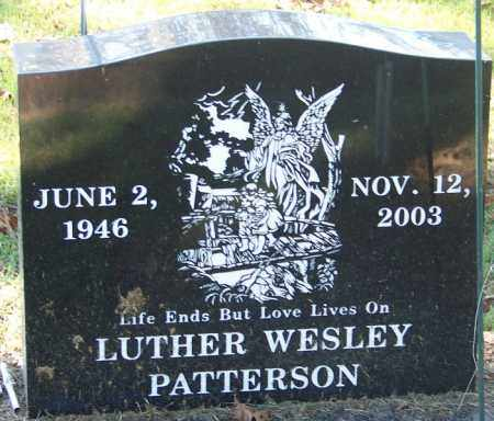 PATTERSON, LUTHER WESLEY - Sebastian County, Arkansas | LUTHER WESLEY PATTERSON - Arkansas Gravestone Photos