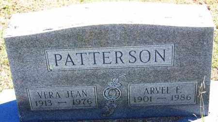 PATTERSON, VERA JEAN - Sebastian County, Arkansas | VERA JEAN PATTERSON - Arkansas Gravestone Photos