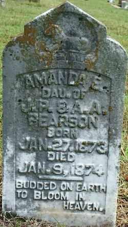 PEARSON, AMANDA E. - Sebastian County, Arkansas | AMANDA E. PEARSON - Arkansas Gravestone Photos