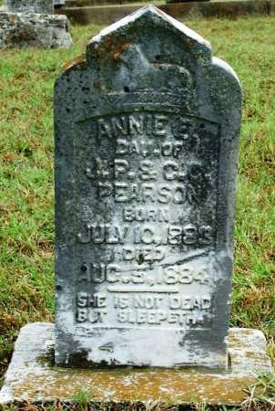 PEARSON, ANNIE E. - Sebastian County, Arkansas | ANNIE E. PEARSON - Arkansas Gravestone Photos