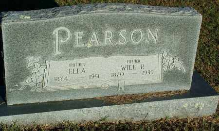 PEARSON, WILL P. - Sebastian County, Arkansas | WILL P. PEARSON - Arkansas Gravestone Photos