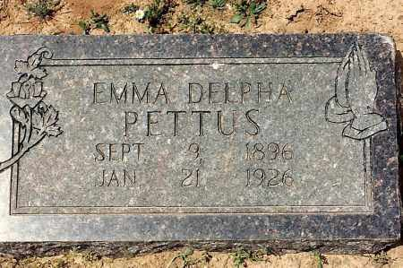 PETTUS, EMMA DELPHA - Sebastian County, Arkansas | EMMA DELPHA PETTUS - Arkansas Gravestone Photos