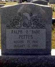 PETTUS, RALPH - Sebastian County, Arkansas | RALPH PETTUS - Arkansas Gravestone Photos
