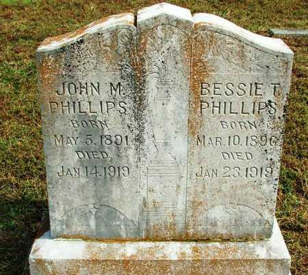 PHILLPS, JOHN M. - Sebastian County, Arkansas | JOHN M. PHILLPS - Arkansas Gravestone Photos