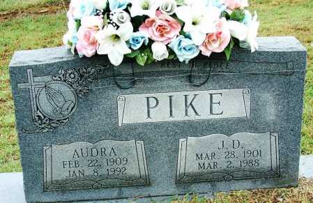 PIKE, AUDRA - Sebastian County, Arkansas | AUDRA PIKE - Arkansas Gravestone Photos