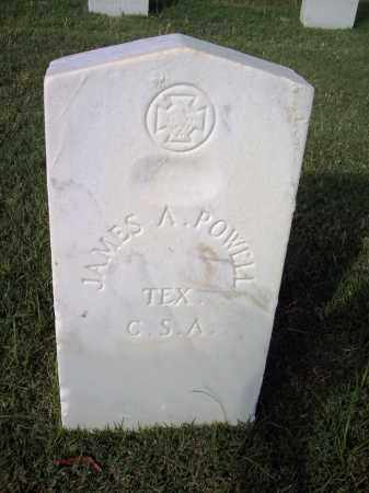 POWELL (VETERAN CSA), JAMES A - Sebastian County, Arkansas | JAMES A POWELL (VETERAN CSA) - Arkansas Gravestone Photos