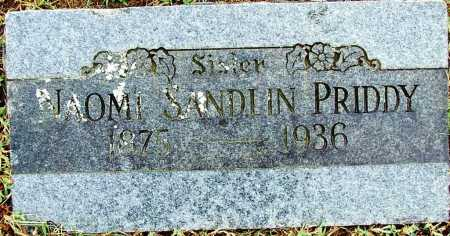 PRIDDY, NAOMI - Sebastian County, Arkansas | NAOMI PRIDDY - Arkansas Gravestone Photos