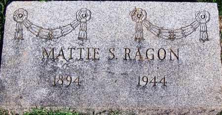 RAGON, MATTIE S - Sebastian County, Arkansas | MATTIE S RAGON - Arkansas Gravestone Photos