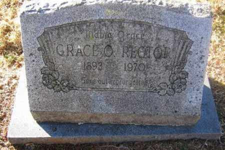 RECTOR, GRACE O. - Sebastian County, Arkansas | GRACE O. RECTOR - Arkansas Gravestone Photos