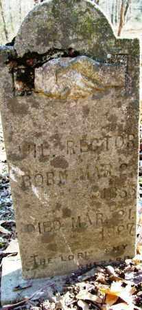 RECTOR, WIL - Sebastian County, Arkansas | WIL RECTOR - Arkansas Gravestone Photos