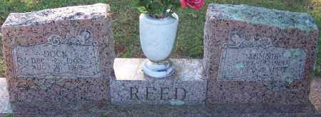 REED, MINNIE - Sebastian County, Arkansas | MINNIE REED - Arkansas Gravestone Photos