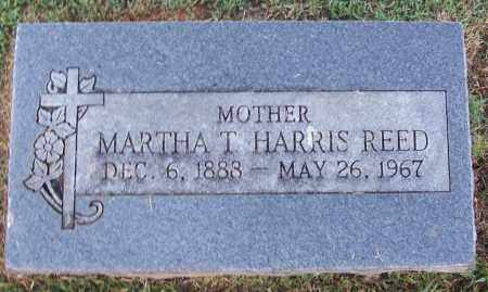 HARRIS REED, MARTHA T - Sebastian County, Arkansas | MARTHA T HARRIS REED - Arkansas Gravestone Photos