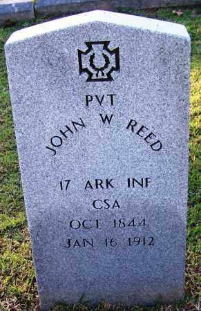 REED (VETERAN CSA), JOHN W - Sebastian County, Arkansas | JOHN W REED (VETERAN CSA) - Arkansas Gravestone Photos