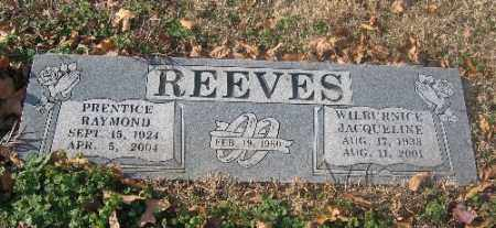 REEVES, PRENTICE RAYMOND - Sebastian County, Arkansas | PRENTICE RAYMOND REEVES - Arkansas Gravestone Photos