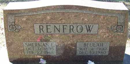 RENFROW, BEULAH - Sebastian County, Arkansas | BEULAH RENFROW - Arkansas Gravestone Photos