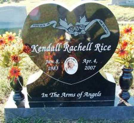 RICE, KENDALL RACHELL - Sebastian County, Arkansas | KENDALL RACHELL RICE - Arkansas Gravestone Photos