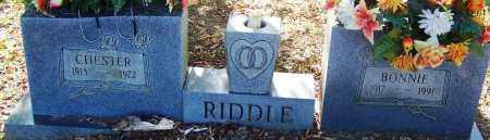 RIDDLE, BONNIE - Sebastian County, Arkansas | BONNIE RIDDLE - Arkansas Gravestone Photos