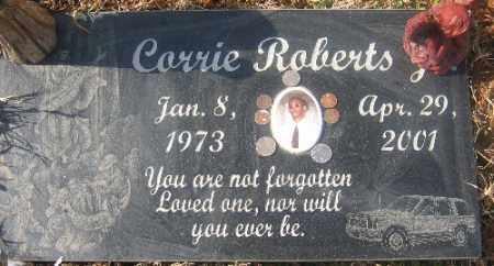 ROBERTS, CORRIE - Sebastian County, Arkansas | CORRIE ROBERTS - Arkansas Gravestone Photos