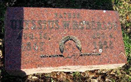 ROBERSON, ULYSSIUS W. - Sebastian County, Arkansas | ULYSSIUS W. ROBERSON - Arkansas Gravestone Photos