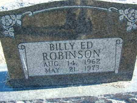 ROBINSON, BILLY ED - Sebastian County, Arkansas | BILLY ED ROBINSON - Arkansas Gravestone Photos