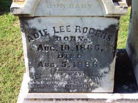 ROGERS, ADIE LEE - Sebastian County, Arkansas | ADIE LEE ROGERS - Arkansas Gravestone Photos