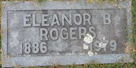 ROGERS, ELEANOR B. - Sebastian County, Arkansas | ELEANOR B. ROGERS - Arkansas Gravestone Photos