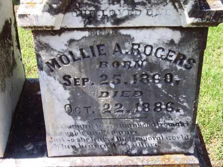 ROGERS, MOLLIE A - Sebastian County, Arkansas | MOLLIE A ROGERS - Arkansas Gravestone Photos