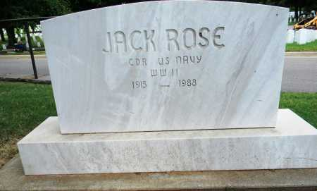 ROSE, (VETERAN WWII), JACK - Sebastian County, Arkansas | JACK ROSE, (VETERAN WWII) - Arkansas Gravestone Photos