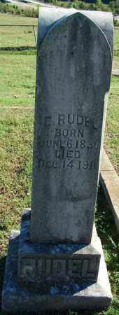 RUDEL, C. - Sebastian County, Arkansas | C. RUDEL - Arkansas Gravestone Photos