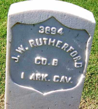 RUTHERFORD (VETERAN UNION), J W - Sebastian County, Arkansas | J W RUTHERFORD (VETERAN UNION) - Arkansas Gravestone Photos