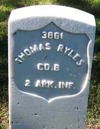 RYLES (VETERAN UNION), THOMAS - Sebastian County, Arkansas | THOMAS RYLES (VETERAN UNION) - Arkansas Gravestone Photos