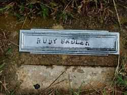 SADLER, RUBY - Sebastian County, Arkansas | RUBY SADLER - Arkansas Gravestone Photos