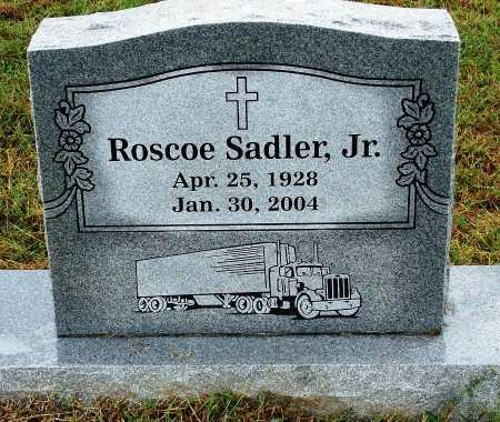 SADLER, JR, ROSCOE - Sebastian County, Arkansas | ROSCOE SADLER, JR - Arkansas Gravestone Photos