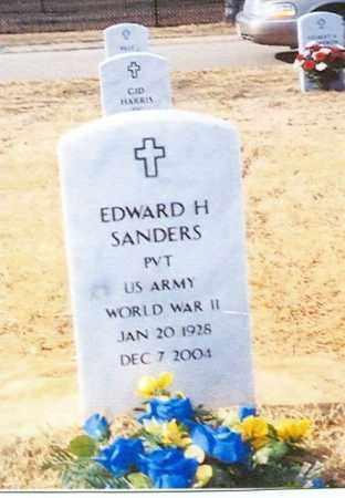 SANDERS (VETERAN WWII), EDWARD - Sebastian County, Arkansas | EDWARD SANDERS (VETERAN WWII) - Arkansas Gravestone Photos