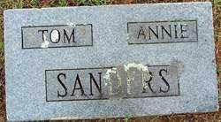 SANDERS, ANNIE - Sebastian County, Arkansas | ANNIE SANDERS - Arkansas Gravestone Photos