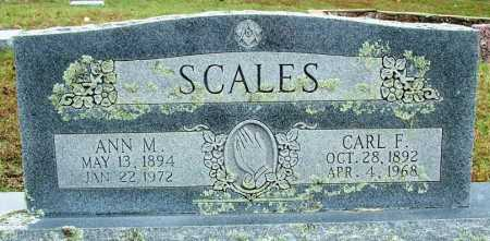 SCALES, ANN M. - Sebastian County, Arkansas | ANN M. SCALES - Arkansas Gravestone Photos