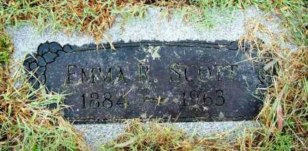 SCOTT, EMMA R. - Sebastian County, Arkansas | EMMA R. SCOTT - Arkansas Gravestone Photos