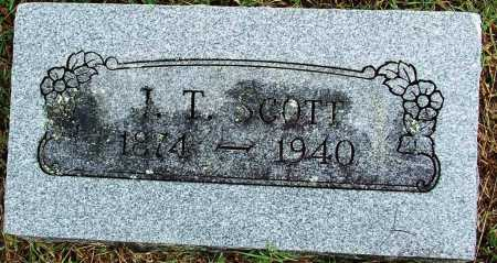 SCOTT, J. T. - Sebastian County, Arkansas | J. T. SCOTT - Arkansas Gravestone Photos