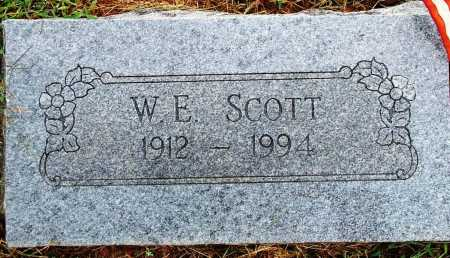 SCOTT, W. E. - Sebastian County, Arkansas | W. E. SCOTT - Arkansas Gravestone Photos