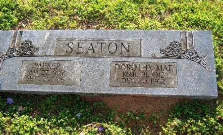SEATON, PARKER - Sebastian County, Arkansas | PARKER SEATON - Arkansas Gravestone Photos