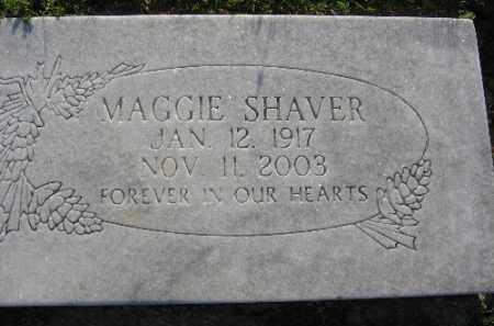 SHAVER, MAGGIE - Sebastian County, Arkansas | MAGGIE SHAVER - Arkansas Gravestone Photos