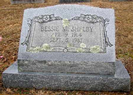SHELBY, BESSIE M. - Sebastian County, Arkansas | BESSIE M. SHELBY - Arkansas Gravestone Photos