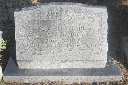 SHELBY, ERBIE R. - Sebastian County, Arkansas | ERBIE R. SHELBY - Arkansas Gravestone Photos