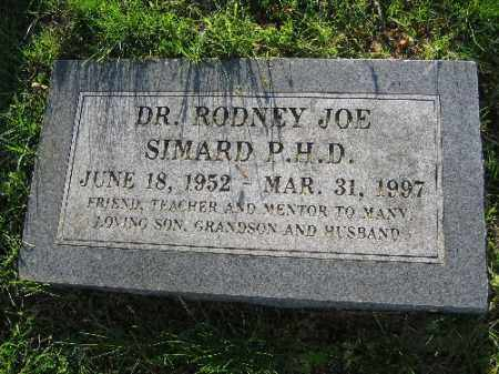 SIMARD, RODNEY JOE - Sebastian County, Arkansas | RODNEY JOE SIMARD - Arkansas Gravestone Photos