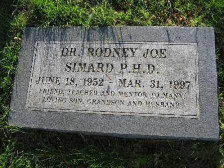 SIMARD, RODNEY JOE - Sebastian County, Arkansas | RODNEY JOE SIMARD - Arkansas Gravestone Photos