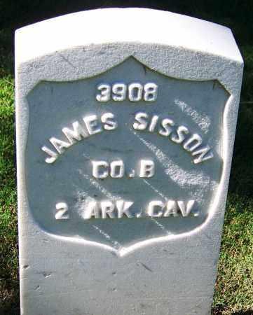 SISSON (VETERAN UNION), JAMES - Sebastian County, Arkansas | JAMES SISSON (VETERAN UNION) - Arkansas Gravestone Photos